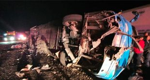 Mexico: 13 killed, 50 injured in bus accident