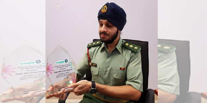 Sikh Pharmacist Capt Manvikram Singh Gill Recipient of Top Award in Southeast Asia