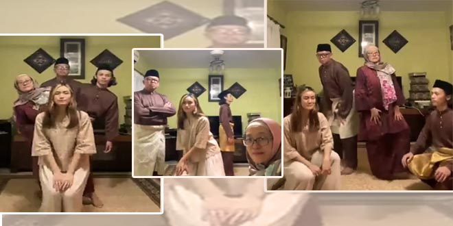 This Family's Unique Eid Greeting Is a Hit on Social Media