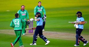 Ireland beat England for 2nd time in ODIs, break India's record