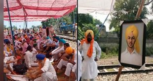 Farmers dedicate 5th days' protest to Shaheed Bhagat Singh