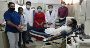 Moga MLA Harjot Kamal donates Plasma for treatment of COVID-19 patients