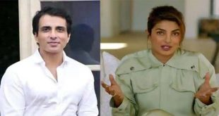 Well deserved: Priyanka as Sonu Sood gets Special Humanitarian Award