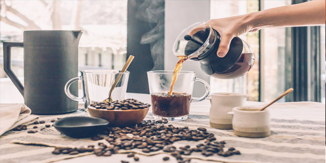 A cup of strong coffee before exercising increases fat-burning